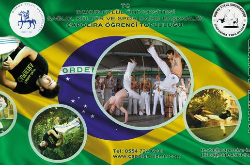 DEÜ Capoeira Topluluğu Antrenmanları Başladı!