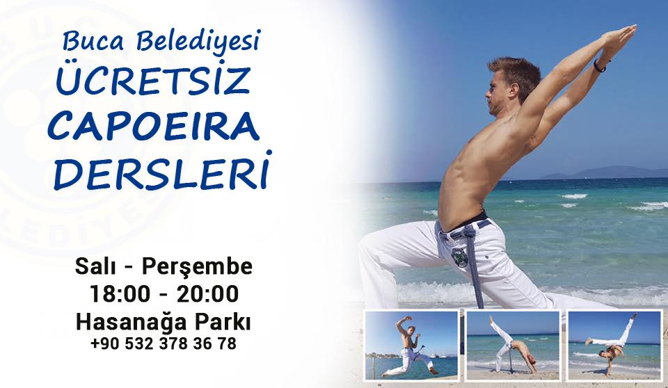 Buca Belediyesi'nde Ücretsiz Capoeira Kursları Başladı!